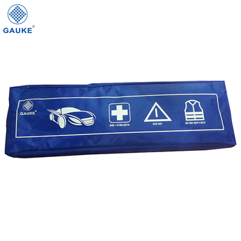 Car kit car triangle emergency kit din 13164 first aid kit