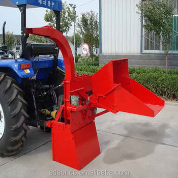 Sunco Agriculture equipment pto driven wood chipper shredder