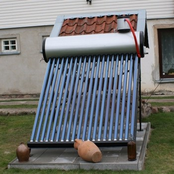 Low Pressure Mini Solar Water Heater With 50 L capacity