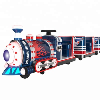 Amusement Park Kids Ride Electronic Train 3 Gen |Mini Tourist Express Thomas Track Train For Playground For Shopping Mall