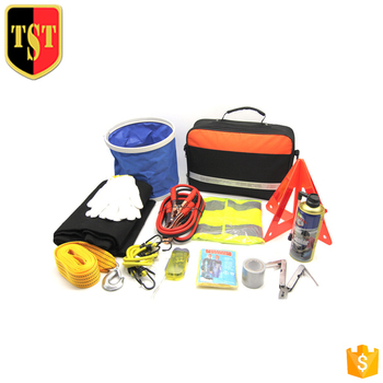 Promotional Emergency Auto Safety Kit Car Breakdown Kit Roadside Car Emergency