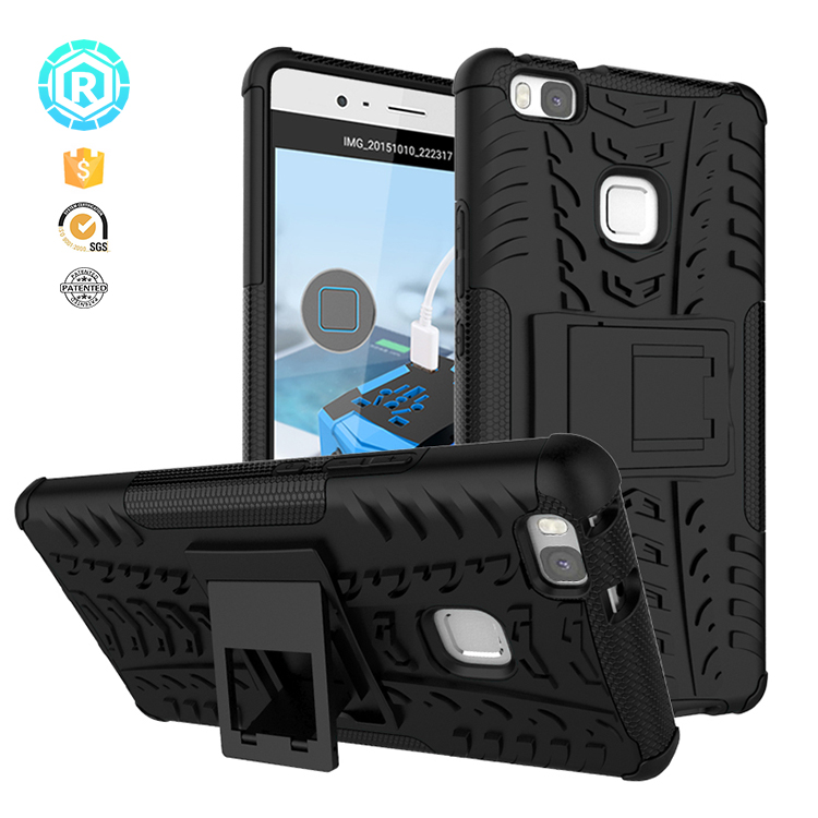 Hot Sale Tpu Pc Case For Huawei P9 Lite Kickstand Phone Back Cover Case For Honor P9 Lite - Buy Case For Honor P9 Lite,Case For Huawei P9 Lite,Phone ...