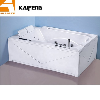 2 Person Whirlpool Jetted Bathtub with TV, KF-631
