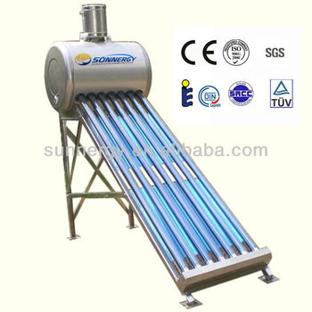 The solar system solar water heating mini portable solar heater