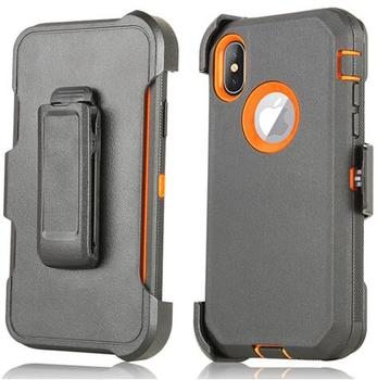 Armor Rugged Defend Heavy Duty Shockproof Defender Case For Iphone XR 3 In 1 Phone Case For Iphone 12 pro