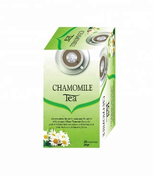 100% Natural Ingredients Small SachetsPacking Skin Beauty Dried Chamomile Green Tea