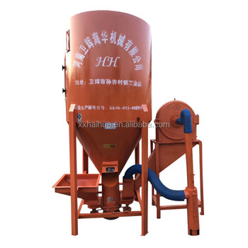 Corn mill feed grinder mixer for chicken and pig feed
