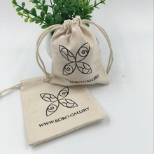 Wholesale Mini Canvas Gift Drawstring <strong>Bag</strong>