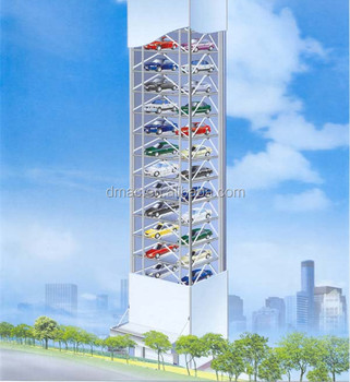 vertical tower auto parking system tower rotary auto carparking system vertical tower auto parking system
