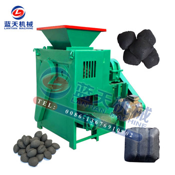 High Working Efficiency Hardwood Charcoal Powder Briquetting BBQ Charcoal Compression Machine