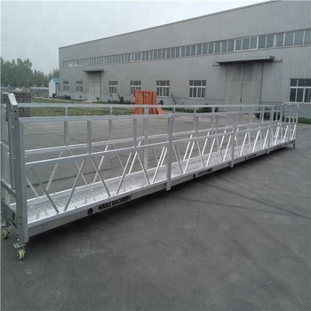 Factory price Construction platform lift high rise window cleaning equipment ZLP800