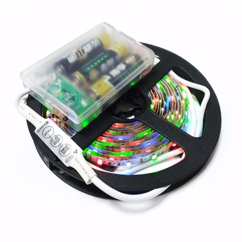 3.7V lipo Battery 2835 LED Strip with battery box