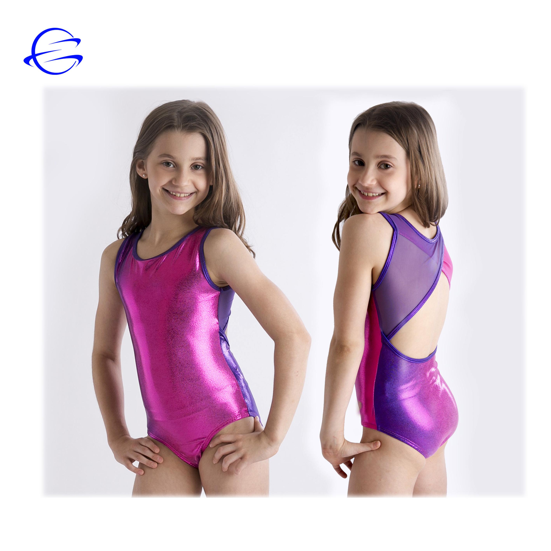Gymnastics Leotards for Girls Sleeveless Gymnastics Leotard