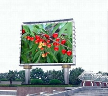 10mm 10ft <strong>x</strong> 24ft <strong>1</strong> by 2 Meters Roadside Digital Advertising Outdoor LED Screen