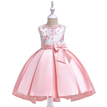 Korean Style Hot Sale Wholesale Stock Girls Party Baby Dresses Cotton Fashion Birthday Wedding Frock T5087