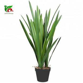 Nearly Natural 80cm Plastic Onion Leaf For Hotel Decoration