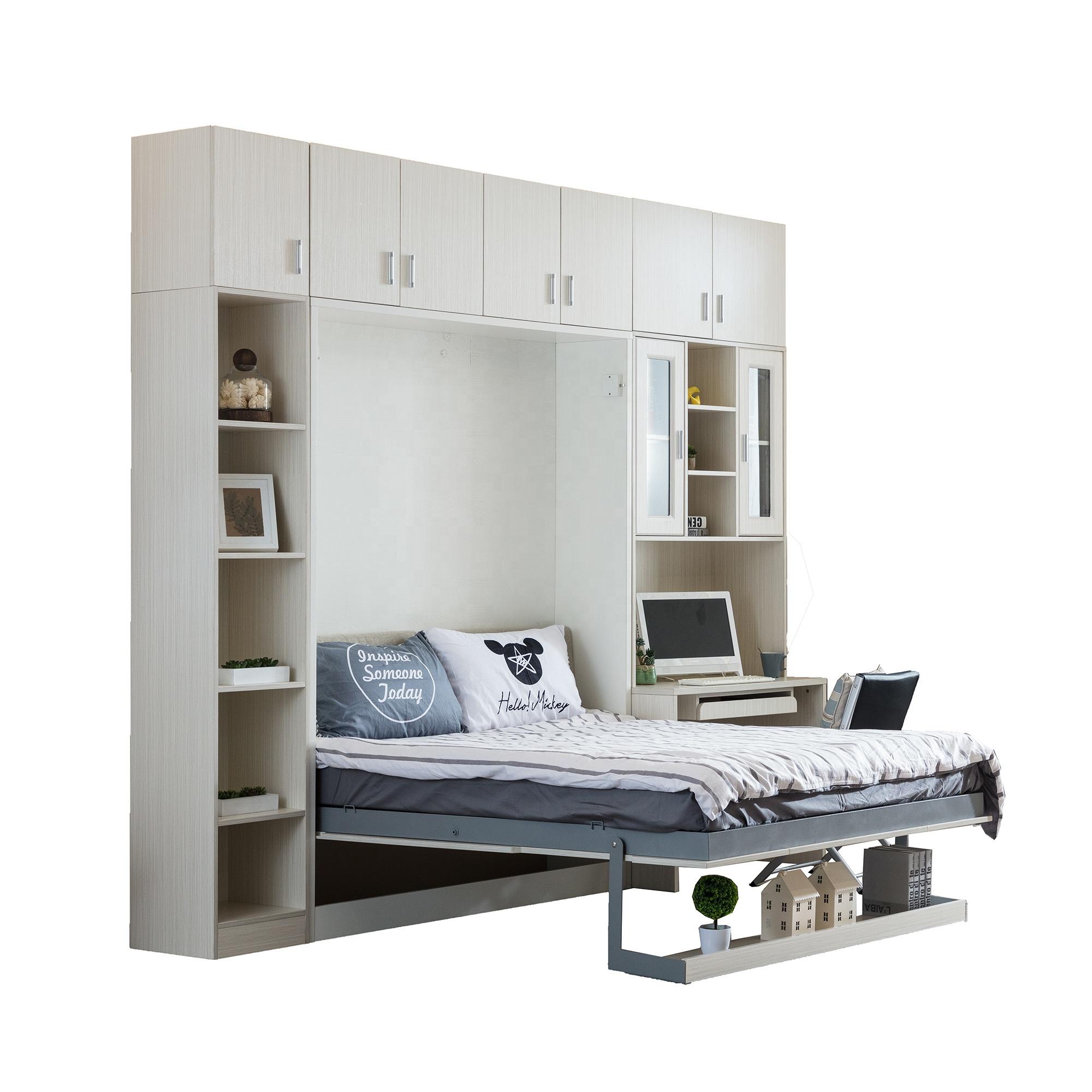 Hot Sale Space Saving Wall Mount Furniture Set Folding Murphy Beds Wall Beds Mechanism Buy Wall Bed Mechanism Murphy Bed Folding Wall Bed Product On Alibaba Com