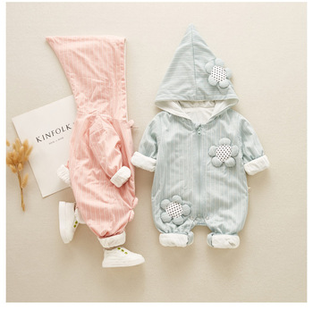 Autumn New Design Baby Clothes Wholesale Boy's And Girl's Cotton Rompers New Born Baby Clothes