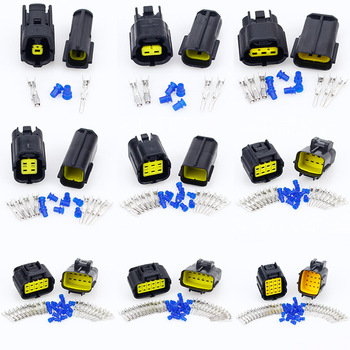 1/2/3/4/6/8/10/12/16 Pin Way Waterproof Wire Connector Plug Car Auto Sealed Electrical Set Car Truck connect