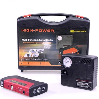 69800mah Car Emergency portable Power Bank lithium Battery Kit 6 volt battery booster car jump starter