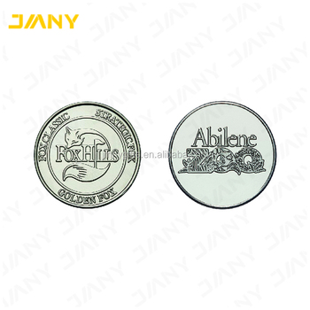 Custom Engraved Nickel Silver Coins and Tokens