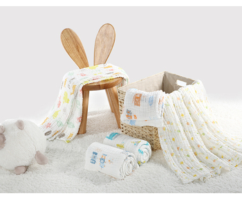 KUB soft baby bath towels 6 layers 9 layers thickening cotton baby kids bath towel