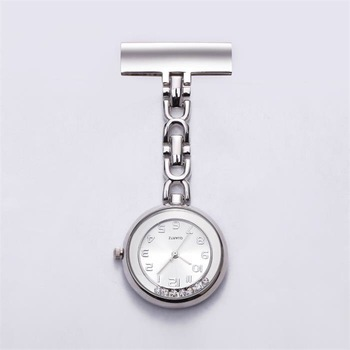 Wholesale Pocket Watch Waterproof Nurse Fob Watch with Brooch