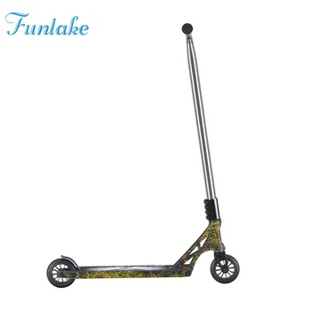 New design 6061 alloy frame freestyle extreme stunt scooters wholesale two weel mini scooter