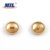 Wholesale custom made rose gold star metal shank buttons for clothes