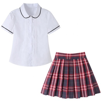 Korean style school supply School Uniforms for high school girl