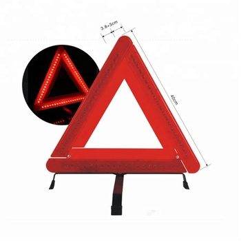 Car Emergency Kit Folding Car Emergency Led Warning Triangle