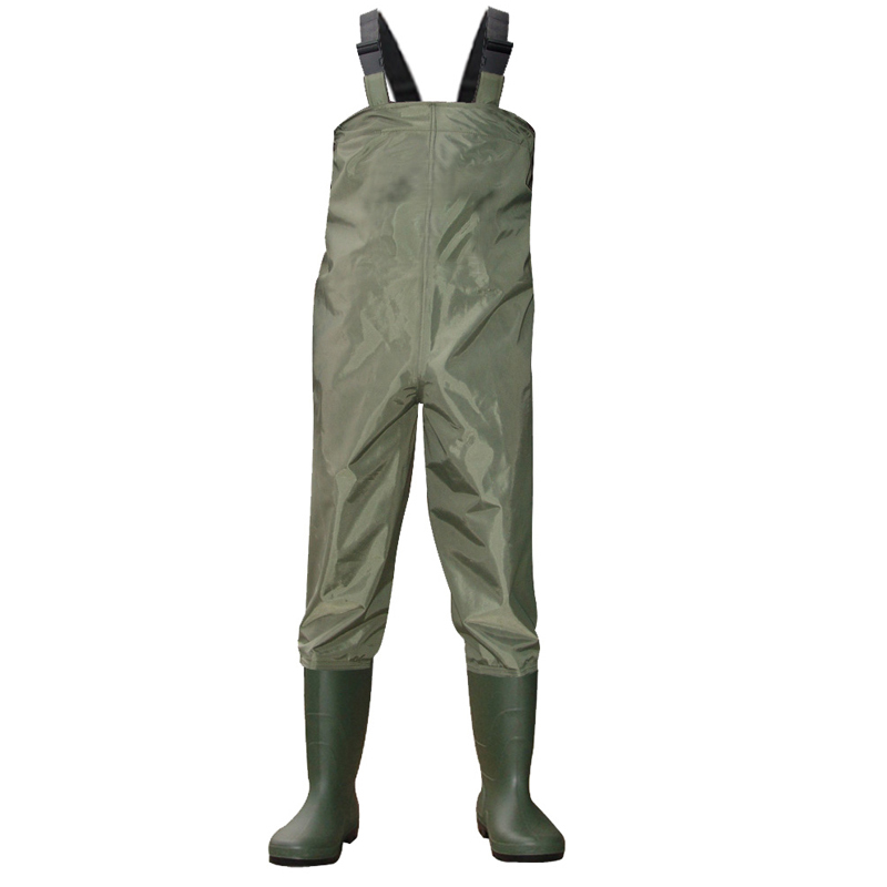 CAMOURFLAGE WATERPROOF PVC CHEST WADERS FLY COARSE SEA FISHING BREATHABLE