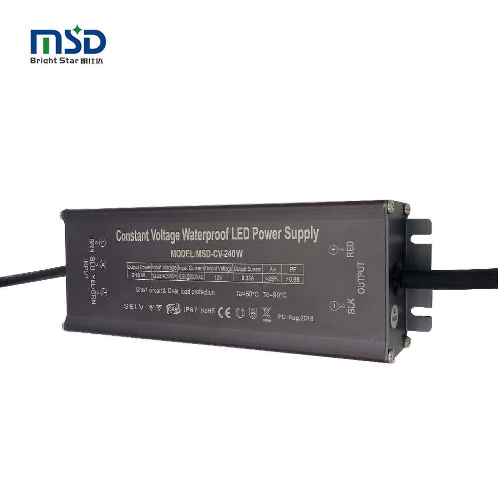 Led Driver Transformer Power Supply 30W Waterproof 110V~240V TO 24~42V 900mA±5/%