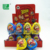 Top quality wholesale chocolate milk biscuit plastic egg surprise toy