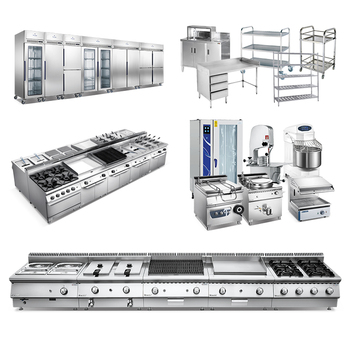 Restaurant Equipment Kitchen Catering Commercial / Hotel Buffet Kitchen Tools Utensils and Equipment