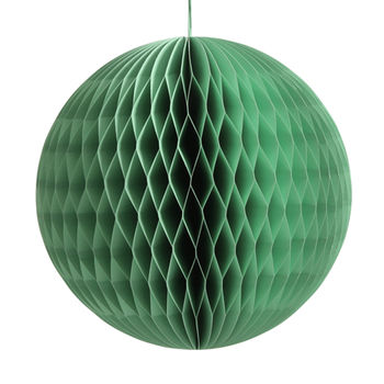 Green Best selling products Green Honeycomb Paper Balls core for Decoration
