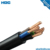 Flexible Rubber cable H07BB-F 2 3 4 5 cores 450/750V class 5 conductor Special crosslinked elastomer EI6 insulation EM6 sheath