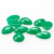 Tear drop green malachite cabochons, plain back stone cabochons