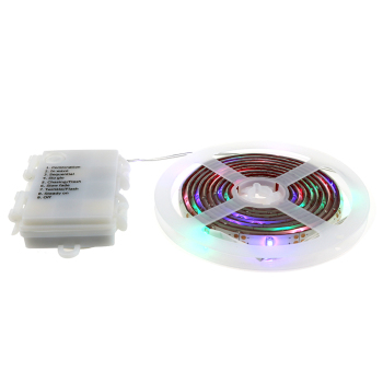 Kingunion color changeable bettery powered 2835 pgb ww 5v led strip with battery pack