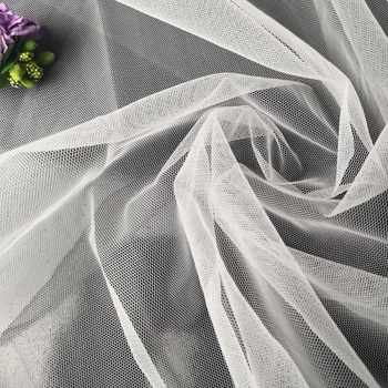 Low price nylon power tulle mesh tricot fabric rolls