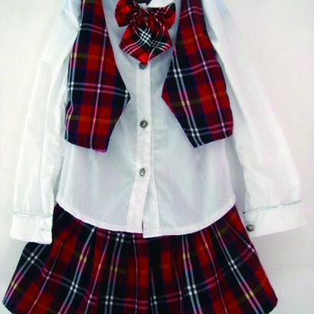 Young girl and boy sexy school uniform pleated skirt and lace shirt beautiful adult sexy school girl and boy uniform