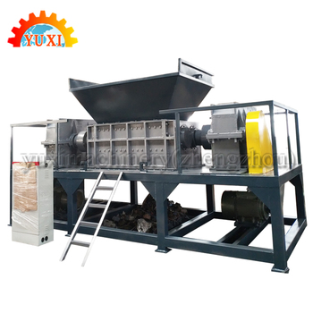 Full Automatic wood/plastic/clothes Shredder Machine factory pirce