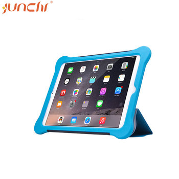 New Generation for iPad Ultra Thin Tri Folding PU Leather Flip Cover for ipad mini 2 case leather