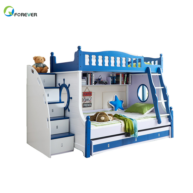 Children's Bed,Modern Minimalist Child Bed Multifunctional Bunk