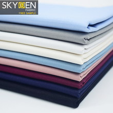 Skygen wholesale price <strong>120</strong> gsm dobby soft white black malaysia solid cotton elastane lycra fabric
