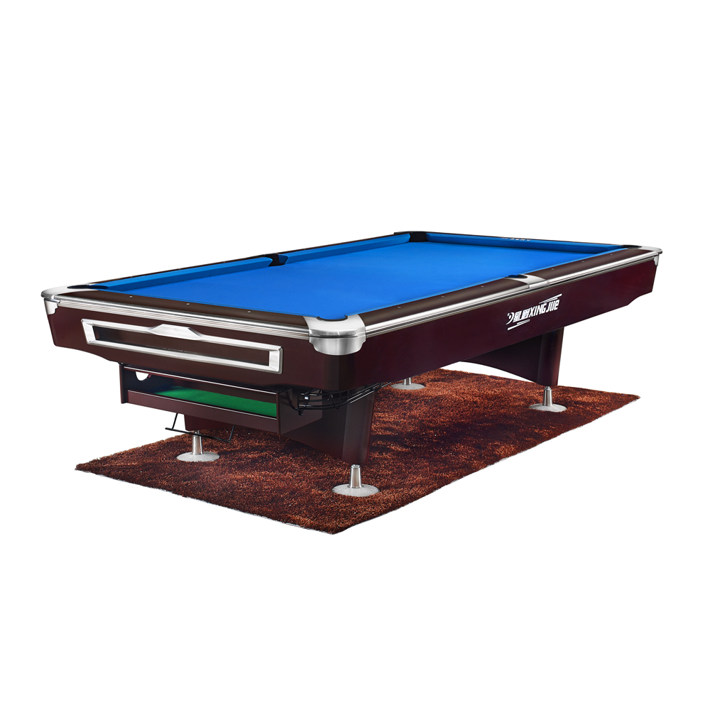 Professional Pool Table 9' With Cyclop Ball And Cues - Buy Pool