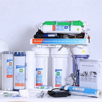 household appliance 6 stage reverse osmosis system/health product alkaline water filter with alkaline mineral water
