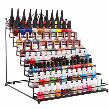 Counter opi nail polish Suda 8 tires back wire display rack