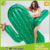 Wholesale Inflatable pvc Cactus Float Pool Float plant Water Toys for kids and adults