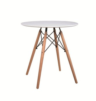 European style household essentials furniture white modern wooden coffee table living room furniture